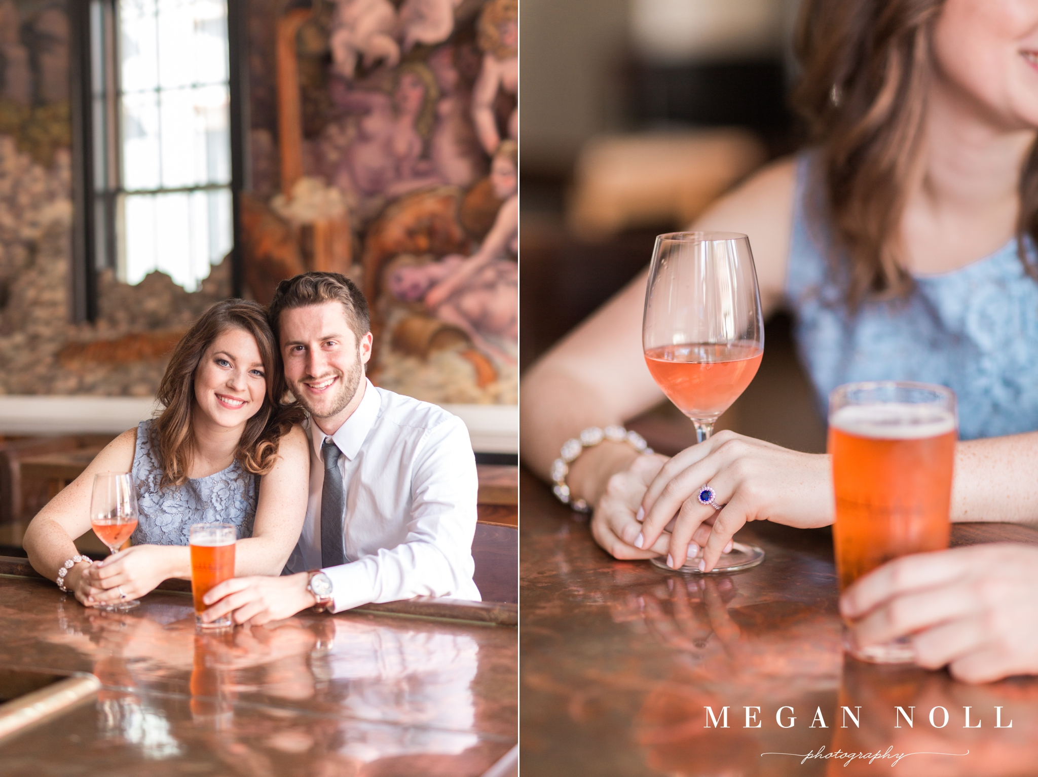 Over The Rhine Engagement Pictures, Downtown Cincinnati Engagement