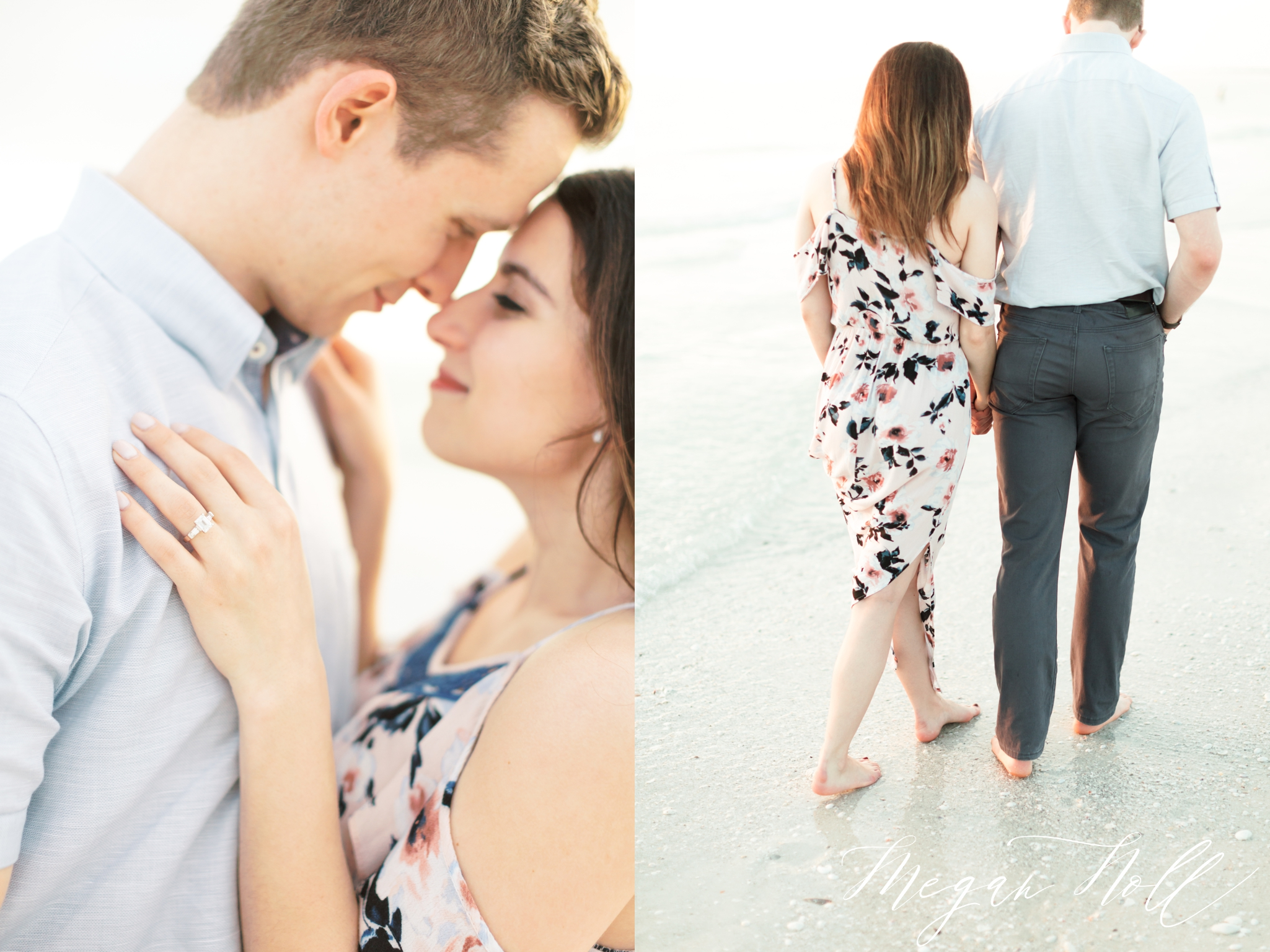 Beach session for Naples Wedding Photographer