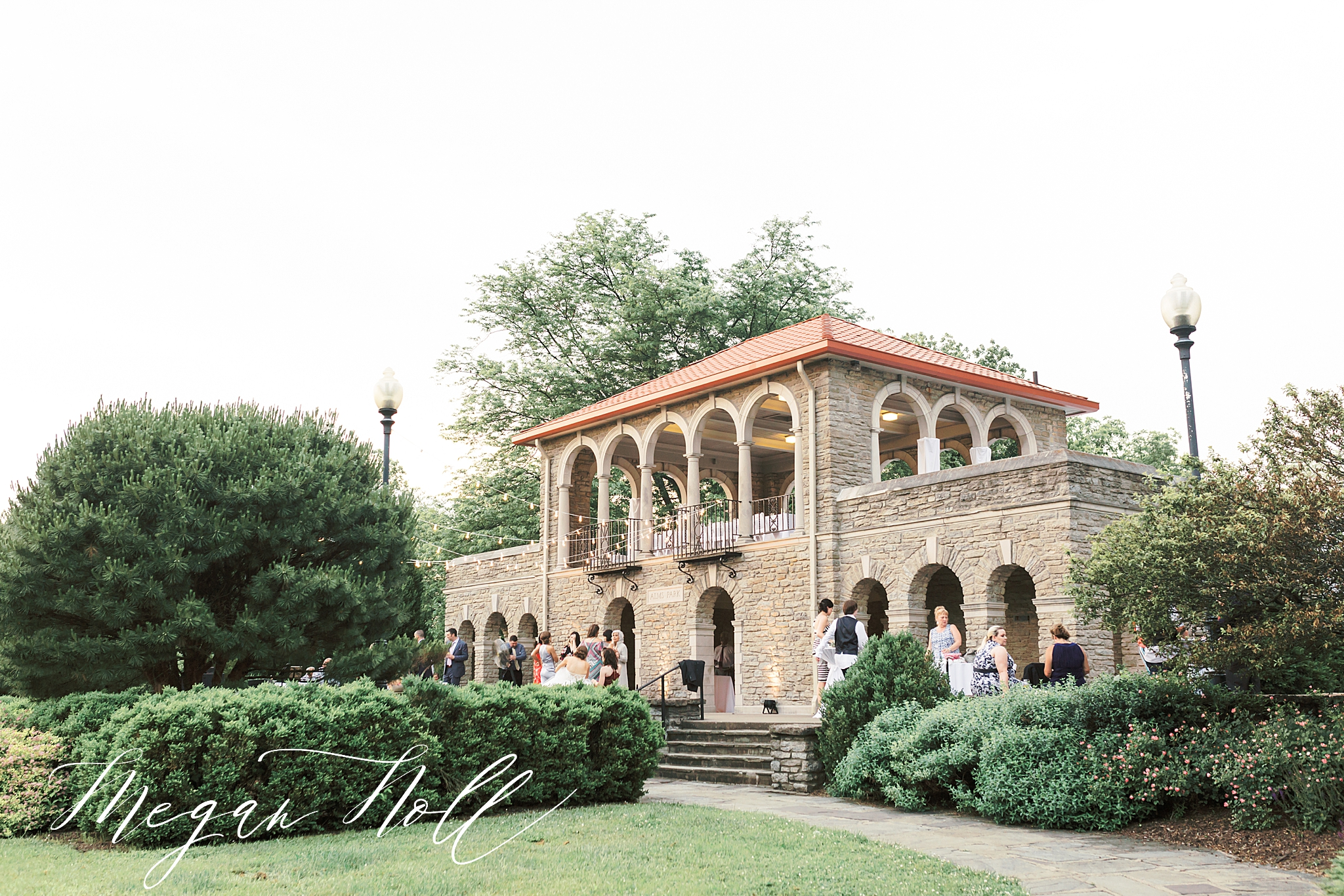 Alms Park is a top wedding venue in Cincinnati, Outdoor Reception venue