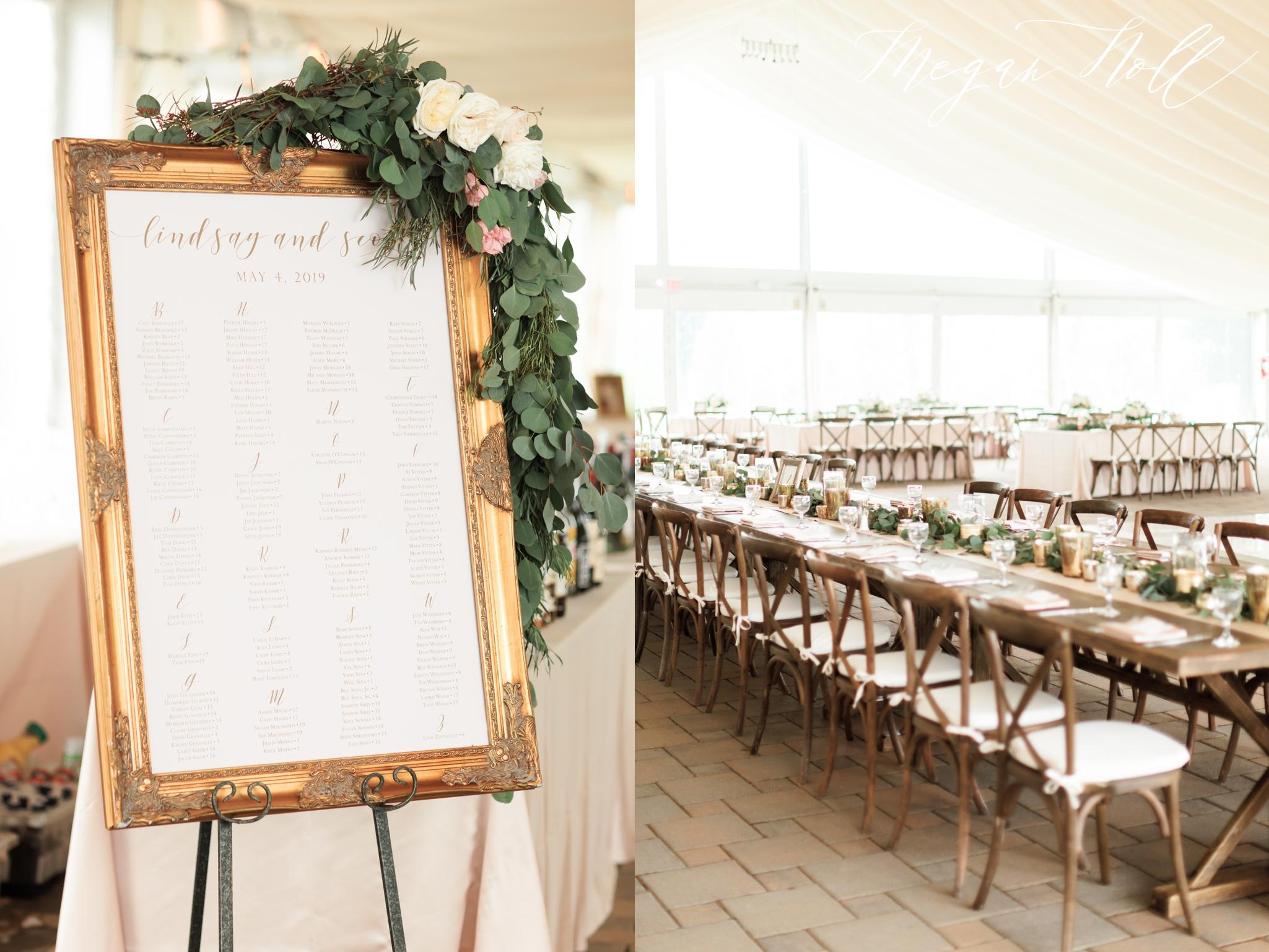Tent inspiration for a greenacres wedding